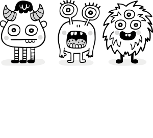 icon monster contacto